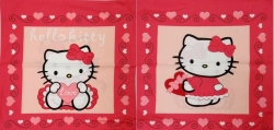 Povlak 40/40cm Hello Kitty Moulin rouge