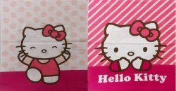 Povlak krep 40/40cm Hello Kitty patchwork